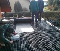 Vegetační zelená střecha